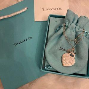 Return to Tiffany Heart Pendant necklace